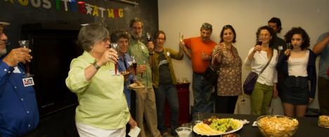 Sheryl Sackman goodbye party