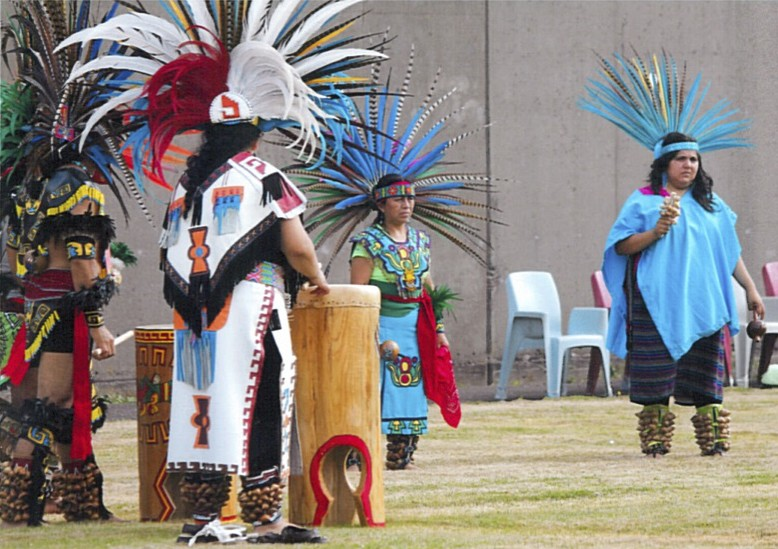 Lakota Oyate Ki powwow in the Oregon State Prison