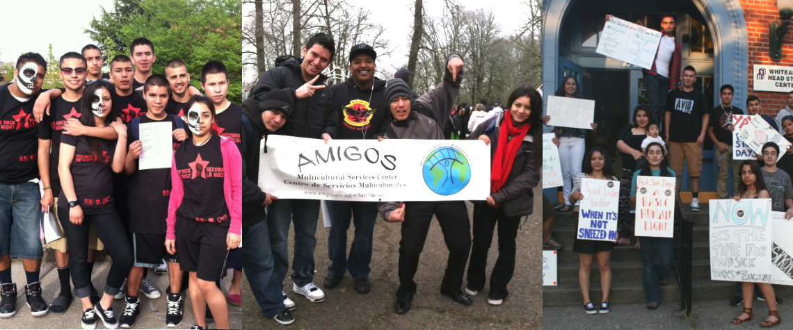 Amigos Multicultural Services Center and Juventud Faceta youth groups