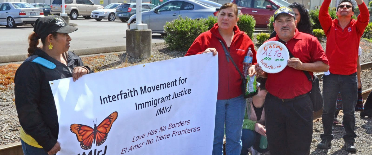 Interfaith Movement for Immigrant Justice rally