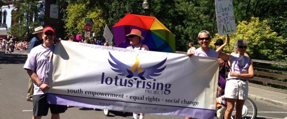 Lotus Rising Project at a Rally