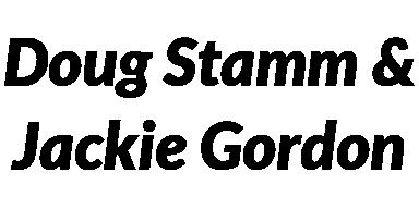 Doug Stamm and Jackie Gordon