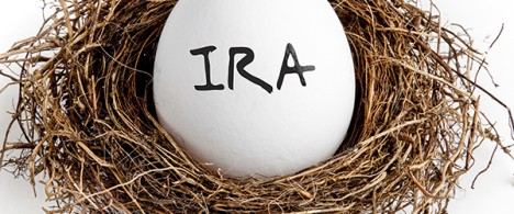 Egg with IRA written on in a nest