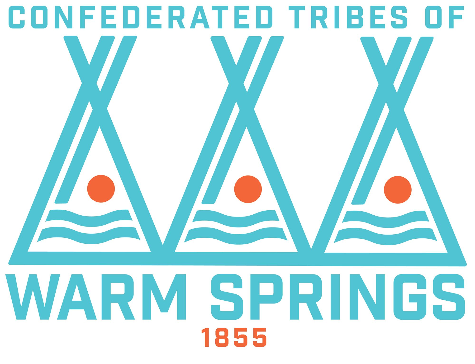 Confederated Tribes of Warm Springs Logo